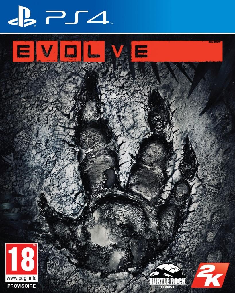 2K EVOLVE Packaging PlayStation4