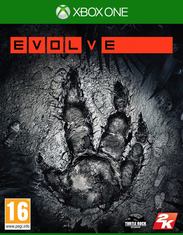 2K EVOLVE Packaging Xbox One