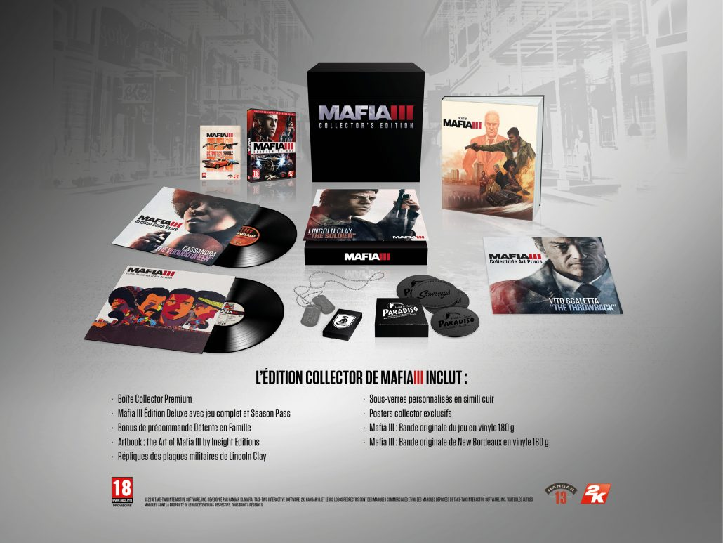 2K MAFIA III Edition Collector