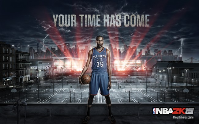 2K NBA 2K15 Annonce Kevin Durant IMAGE