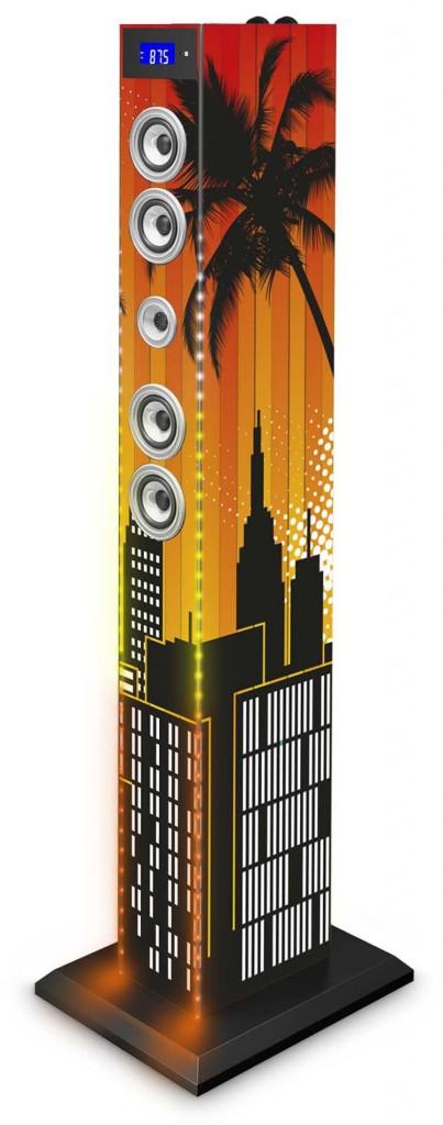 La tour multimédia TW6 'Sunlight' est disponible au prix public conseillé de 139,90€ TTC