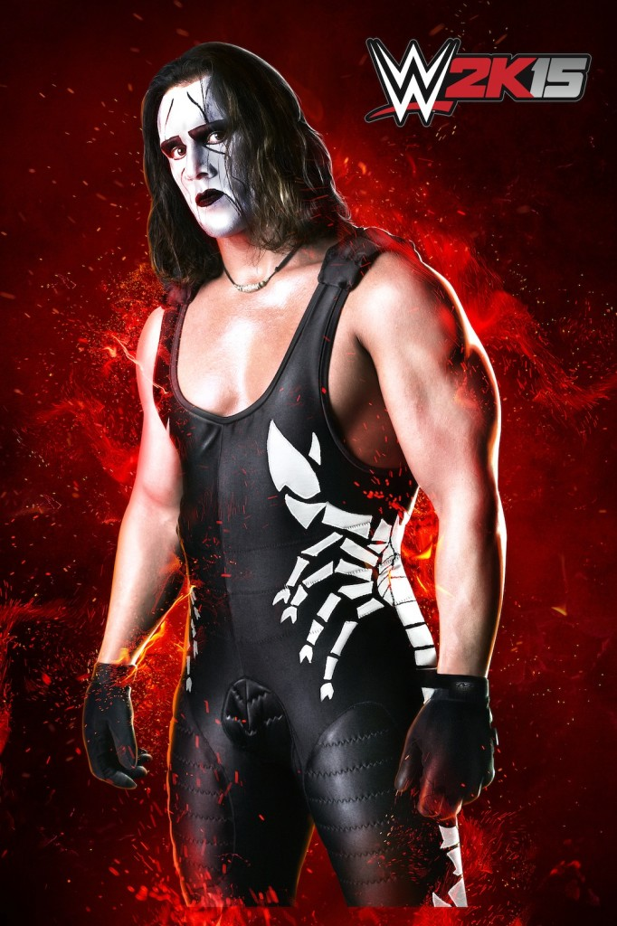 WWE2K15 Sting Black&White