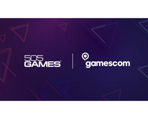 """""""Logo 505 Games x Gamescom"""""""