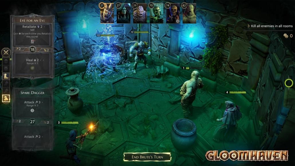 Screenshot Gloomhaven Gameplay