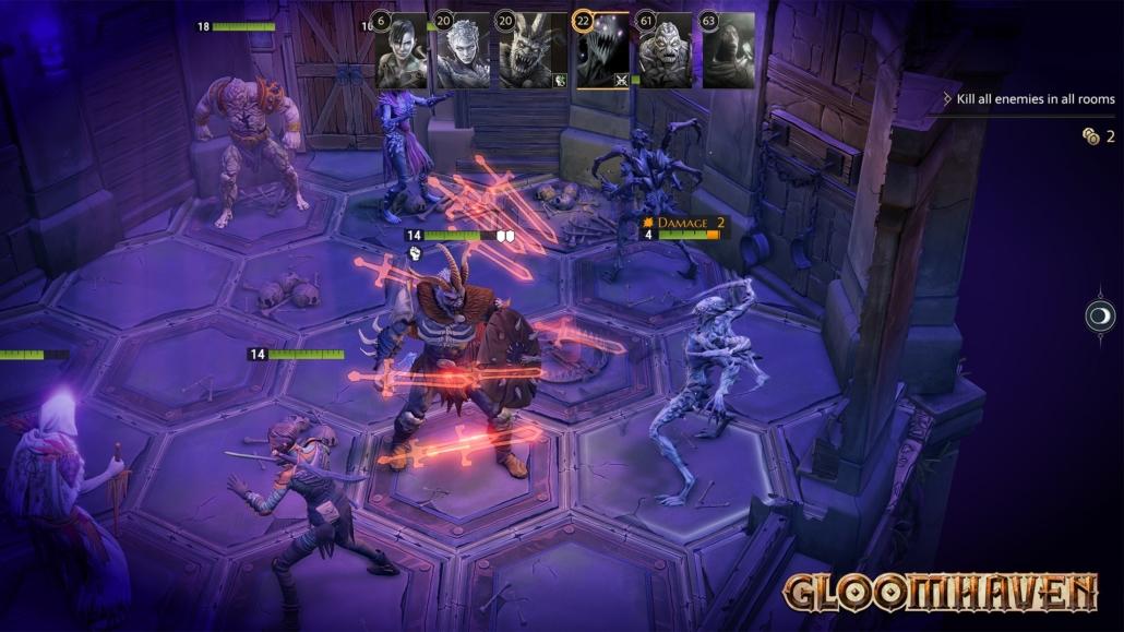 Screenshot Gloomhaven Gameplay 3